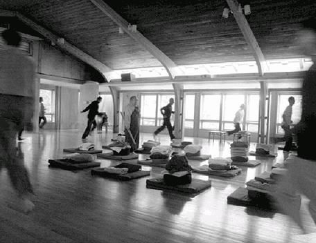 Медитация дзенской ходьбы